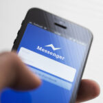 Facebook messenger app on Apple iPhone 5